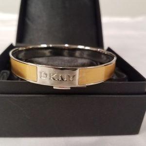 DKNY Enameled Bangel Bracelet